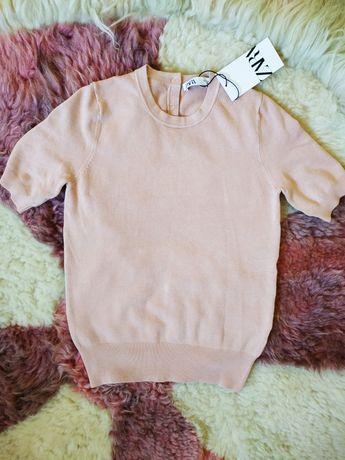 Свитер, кофта с коротким рукавом от Zara