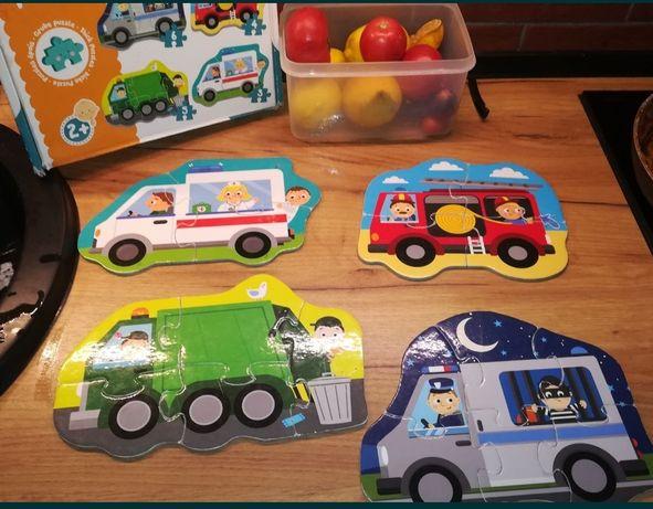 Puzzle dla dzieci w wieku 2 +