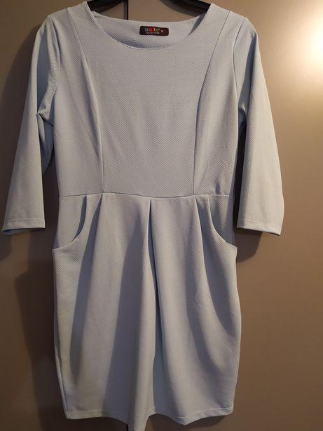 Sukienka błękitna rozmiar 40.