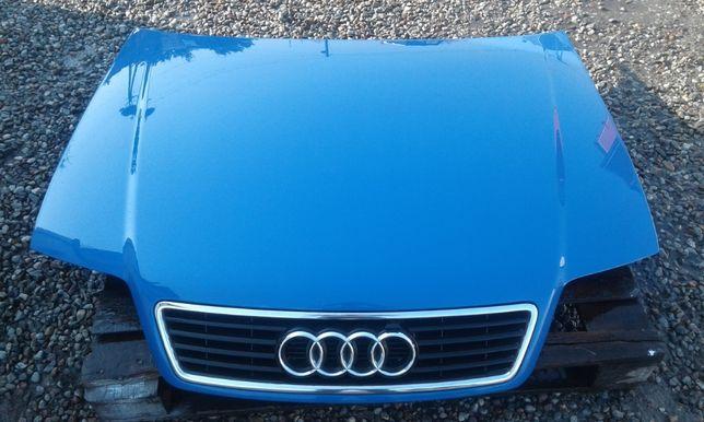 Maska przód pokrywa silnika z grillem AUDI A6 C5 Kolor: LZ5M