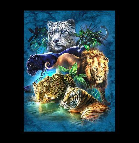 Diamond painting zwierzęta 20x25