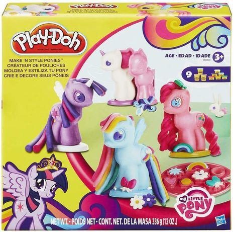 Play-Doh My Little Pony. Плей До Мой маленький пони. Набор теста лепки