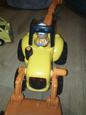 Koparka zabawka na baterie