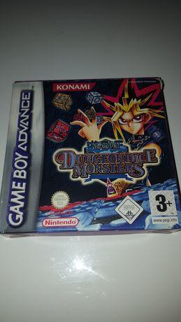 Gra oryginalna Yu Gi Oh Dungerondice Monster Nintendo Game Boy unikat