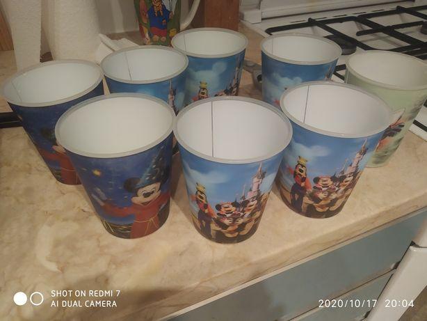 Conjunto copos Disney