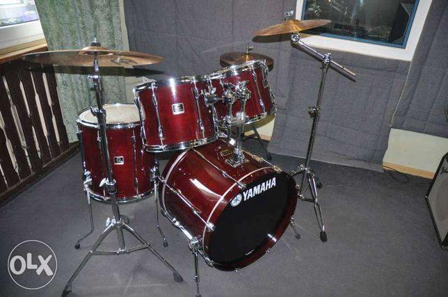 YAMAHA STAGE CUSTOM+talerze Zidjian-kompletna perkusja