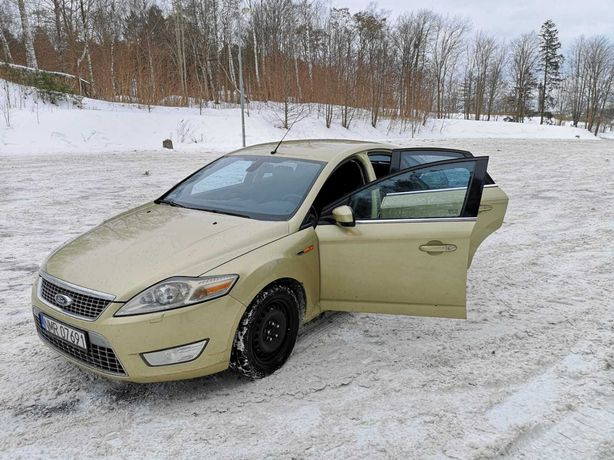 Ford mondeo mk4 2007, convers
