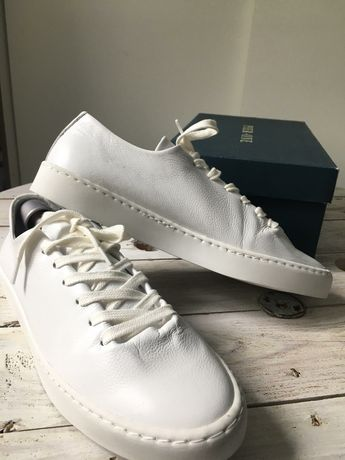 Pier One trampki tenisówki skóra naturalna roz. 38 skórzane sneakersy