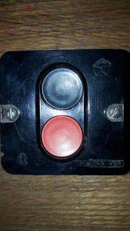 Кнопка пусковая, трёхфазная.