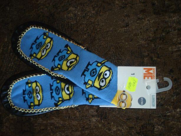чешки детские с теплыми носками Германия новые 27-30 размер 18 см