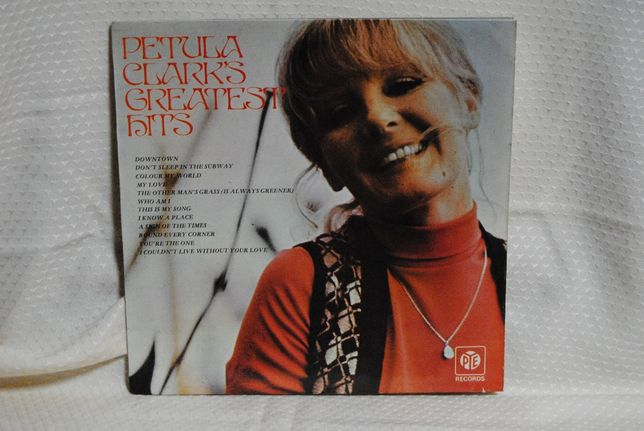 Petula Clark's Greatest Hits LP