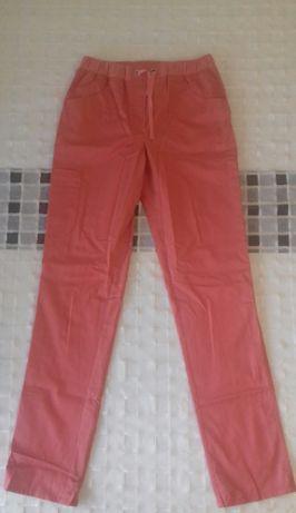 """Spodnie medyczne damskie """"Komfort"""" firmy Eldan, rozm. XS/168 koralowe"""