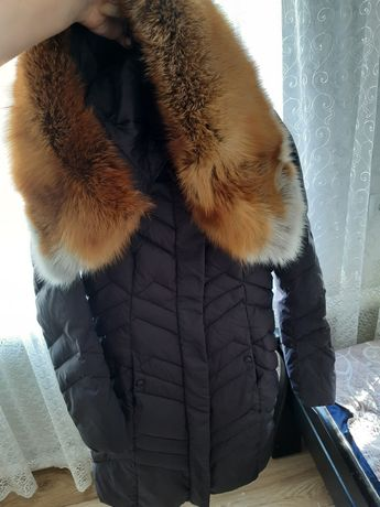 Пальто пуховик женское в идеальном состоянии