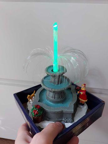Nowa LED fontanna święta,Boże narodzenie,Mikołaj, wioska zimowa
