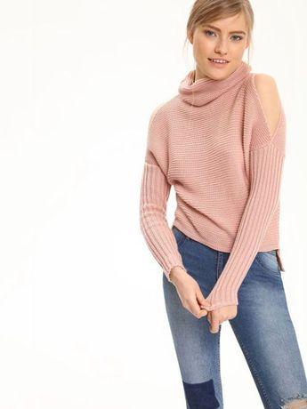Sweter z odkrytymi ramionami limitowana kolekcja TrollS
