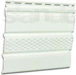 Софіт для підшивки звису даху білий