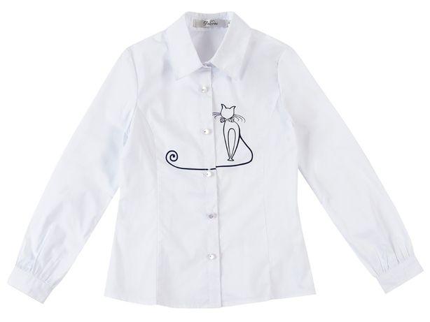 Блузки белые DELORAS и De Salitto