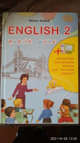 Підручник English англійська мова