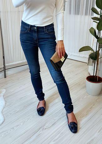 Spodnie jeansy Mango rurki skinny S