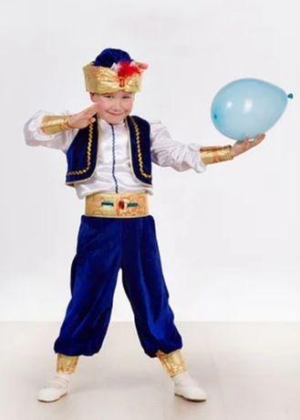 Детский карнавальный костюм Аладин, Султан, Восточный мальчик.