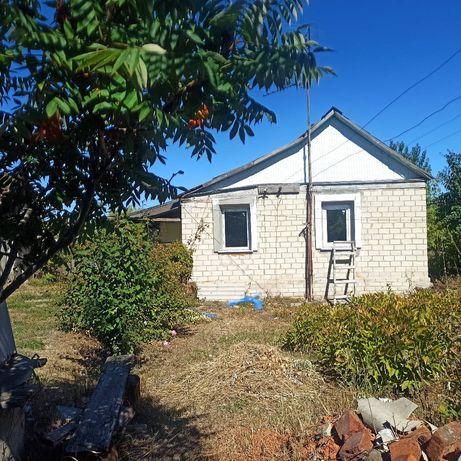 Продам маленький дом с огромным участком
