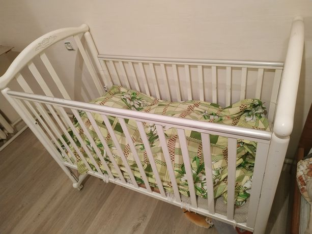 Кроватка Pali белая
