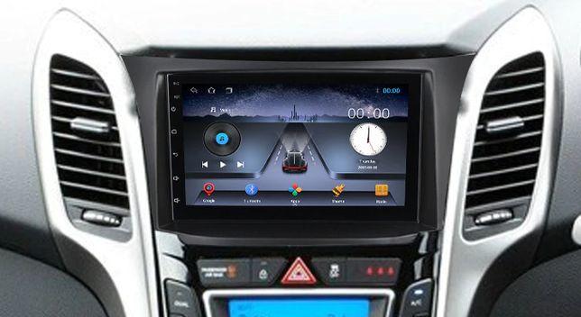 Radio nawigacja ANDROID Hyundai I30 2012=2016 WiFi Bluetooth Elantra