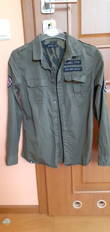 Koszula zielona militarna 146