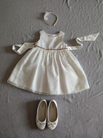 Sukienka dla dziewczynki na wesele, komunię, elegancka 110-116