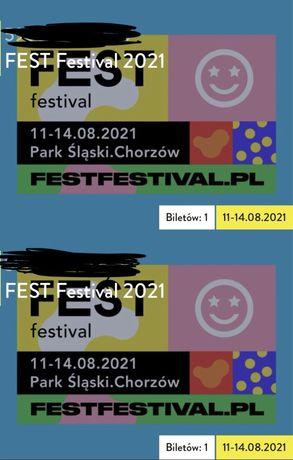 2 Bilety na Fest Festival 12.08