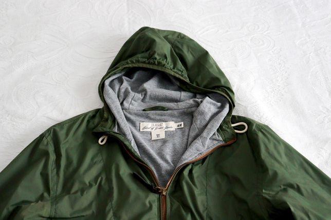 Parka Verde H&M tamanho S