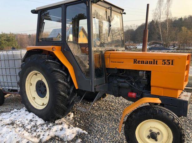 Renault 551, ciągnik, traktor