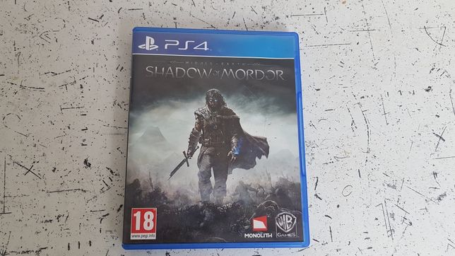 Shadow of Mordor PS4 PL