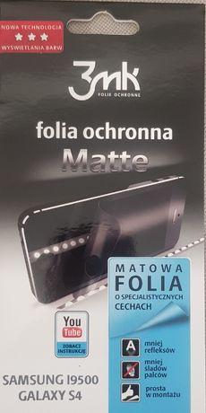 Folia Ochronna 3MK MATTE do SAMSUNG GALAXY S4 I9500 I9505