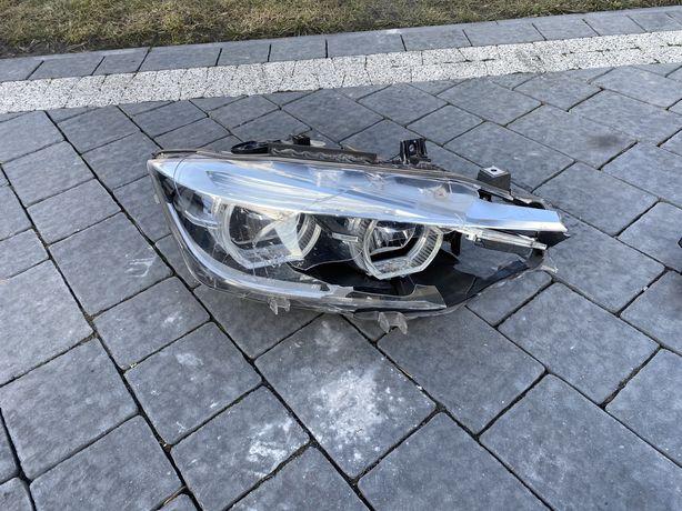 Lampa Prawa BMW F 30 lift uszkodzona