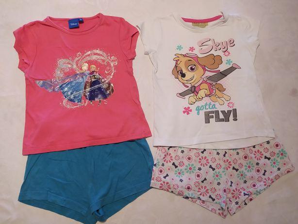 Pijamas Verão. Disney e Nickelodeon. 4 Anos