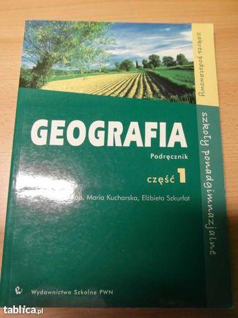 Geografia do liceum, część 1, pwn, kop, kucharska, szkurłat