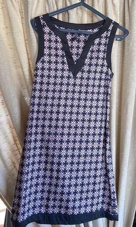 Vestido padrão vintage