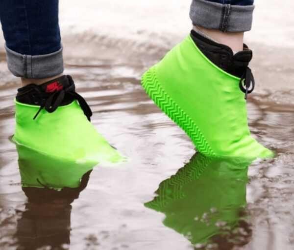 Набор силиконовых чехлов для обуви от дождя и грязи размер S,M,L(3 шт)