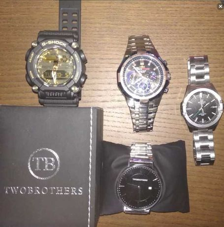 Relógios Casio Edifice/G-shock/Two Brother Novos