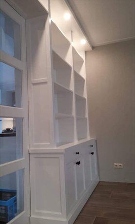 drzwi wewnętrzne drewniane białe w zabudowie 4 Promocja miesiąca -100