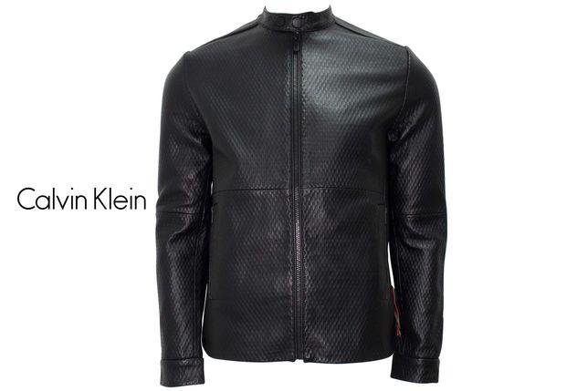 Куртка шкіряна чоловіча Calvin Klein. Розмір S.