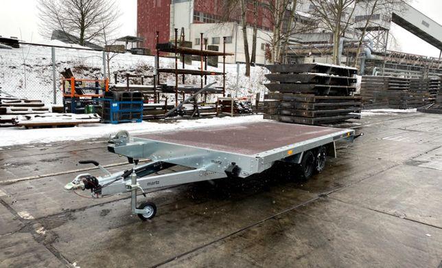 Laweta płaska 400x216 MARTZ GT PLATEAU 400 DMC 2700kg wciągarka najazd
