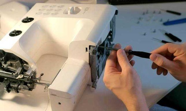 Serviço de manutenção e reparação de máquinas de costura - Barlavento