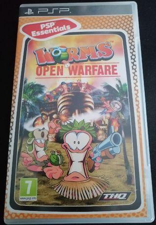 Playstation Portable - Worms: Open Warfare
