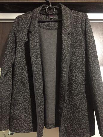 Пиджак леопардовый
