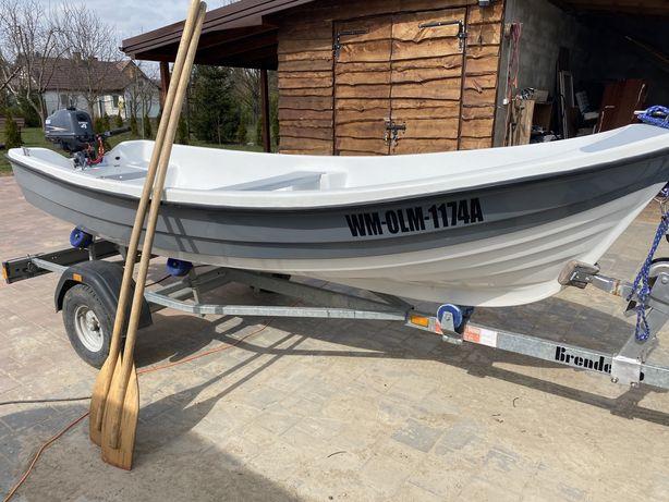 Łódź łódka rekreacyjna rybacka + gratis