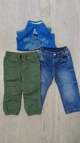 Отличные штанишки на мальчика. Две пары.