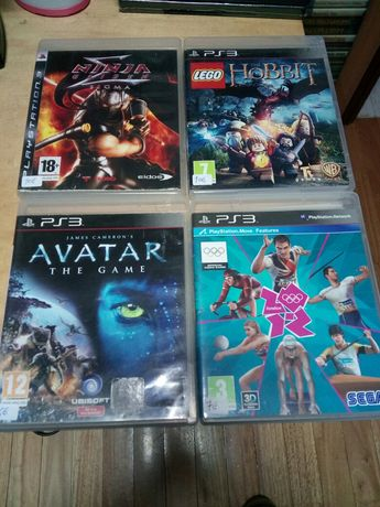 Lote 7 jogos ps3 Ninja gaiden sigma,fallout, call of duty etc