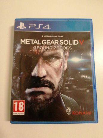 Jogo para PlayStation 4. Metal Gear Solid 5 Groud Zeroes